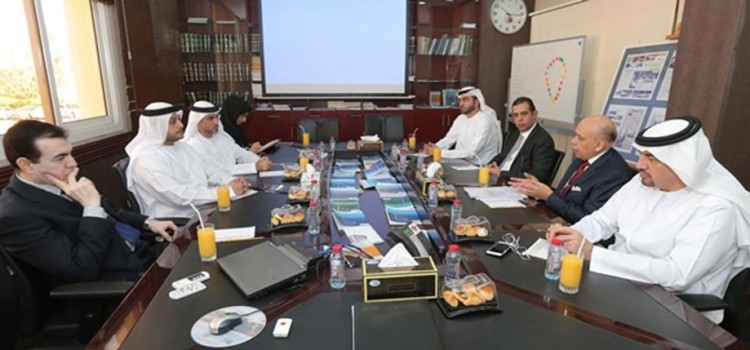 DCMMI members held a meeting with Dubai Courts and discussed issues effecting the Maritime Industry